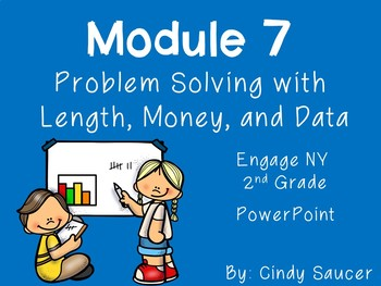 Engage NY Math, updated version, Second Grade, Module 7, Lessons 1 - 13