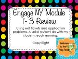 Eureka Math / Engage NY Module 1-3 Review