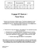Engage NY Module 1 4th Grade Extension