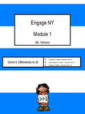 Engage NY Module 1 Binder Cover: Second Grade