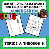 Engage NY Module 1 End of Topic Assessments - Kindergarten
