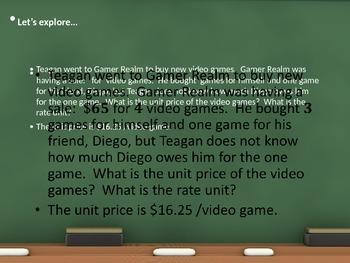 Engage NY Module 1 Lesson 16 - 17 6th grade math