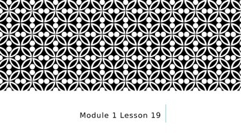 Engage NY/Eureka Math 4th gr Module 1 Lesson 19 Power point