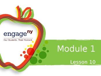 Engage NY Module 1 Lesson