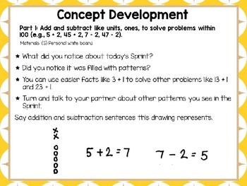 Engage NY Math Smart Board 2nd Grade Module 1 Lesson 3
