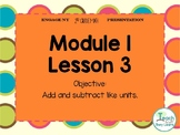 Engage NY/Eureka Math PowerPoint Presentation 2nd Grade Module 1 Lesson 3