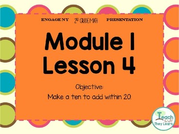 Engage NY Math Smart Board 2nd Grade Module 1 Lesson 4