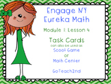 Engage NY  Module 1 Lesson 4  Math Centers - Task Cards - Scoot Game