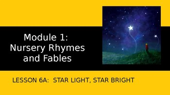 Engage NY - Module 1 - Lesson 6A:  Star Light, Star Bright