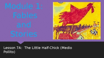Engage NY:  Module 1 - Lesson 7A:  The Little Half-Chick