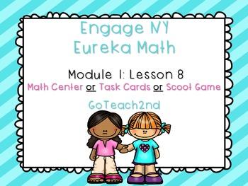 Engage NY/Eureka Math- Module 1 Lesson 8 - Math Centers -T