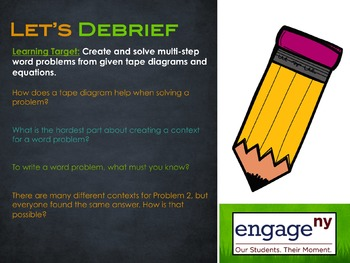 Engage NY: Module 1 : Lessons 1-19