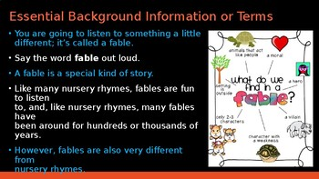 Engage NY: Module 1-Nursery Rhymes and Fables-Lesson 10A: The Lion and the Mouse