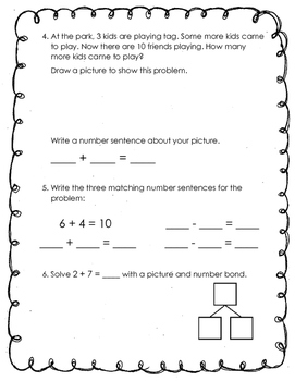 Engage NY Module 1 Test First Grade
