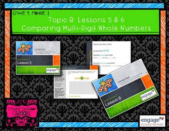 Engage NY: Module 1: Topic B Powerpoint Bundle