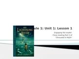 Engage NY Module 1 Unit 1 Lesson 1 Percy Jackson The Light