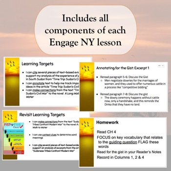 Engage NY 7th Grade Module 1 Unit 1 Lessons 1 & 2 Google Slides Free Preview