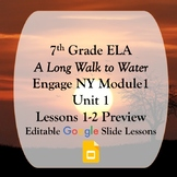 Engage NY 7th Grade Module 1 Unit 1 Lessons 1 & 2 Google S