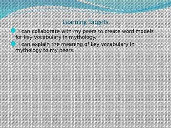 Engage NY Module 1 Unit 2 Lesson 5 The Lightning Thief