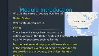 Engage NY:  Module 10 - American Independence:  Lesson 1A - The New World