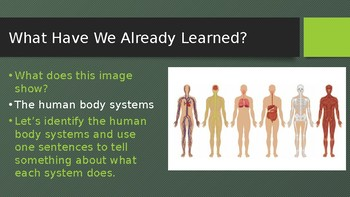 Engage NY:  Module 10 - The Human Body - Lesson 9A:  A Healthy Human Body