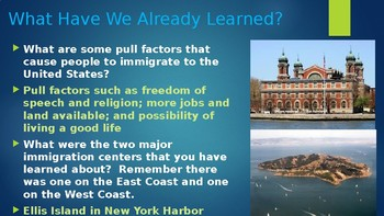 Engage NY:  Module 11 - Immigration - Lesson 7A:  A Mosaic of Immigrants