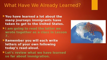 Engage NY:  Module 11 - Immigration - Lesson 8A:  Becoming a Citizen
