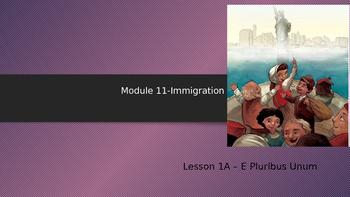 Engage NY:  Module 11 - Lesson 1A:  E Pluribus Unum