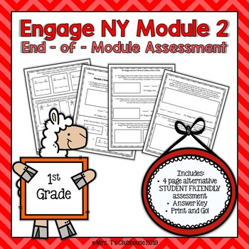 Engage NY Module 2 End-of-Module Assessment