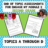 Engage NY Module 2 End of Topic Assessment - Second Grade