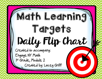 Engage NY Module 2 Learning Targets Flip Chart