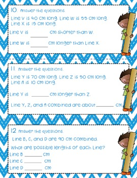 Engage NY  Module 2 Lesson 6 Math Centers - Task Cards- Scoot Game