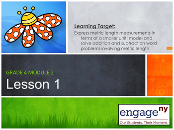 Engage NY: Module 2 : Lessons 1-5
