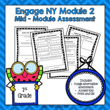 Grade 5 Engage Ny Module 2 Assessment & Worksheets   TpT