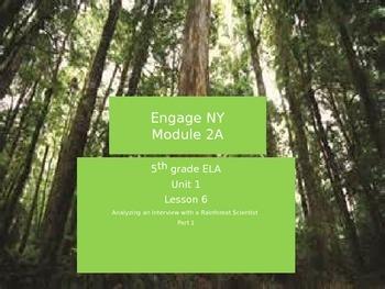 Engage NY Module 2A Unit 1 Lesson 6