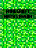 Engage NY/Eureka Math 4th gr Module 3 Area and Perimeter Minecraft Math activity
