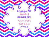 Engage NY Eureka Math Module 3-BUNDLED-Math Centers - Task Cards - Scoot Games