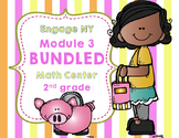 Engage NY  Module 3  Lesson 1-10  BUNDLED -Math Centers - Task Cards