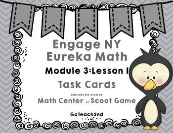 Engage NY/Eureka Math  Module 3 Lesson 1  Math Centers - Task Cards