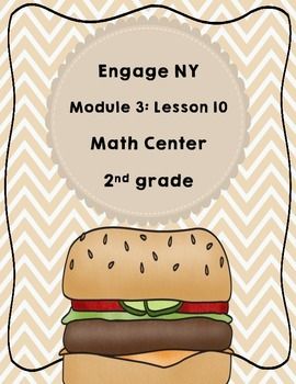 Engage NY  Module 3  Lesson 10  Math Centers - Task Cards