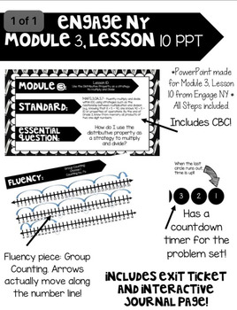 Engage NY, Module 3, Lesson 10 PowerPoint