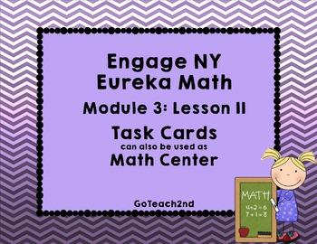 Engage NY Eureka Math-  Module 3 Lesson 11 Math Centers -