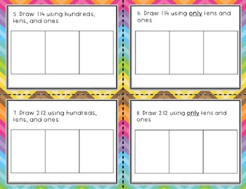 Engage NY / Eureka Math Module 3  Lesson 14 Math Centers - Task Cards