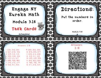 Engage NY / Eureka Math  Module 3 Lesson 18 Math Centers - Task Cards