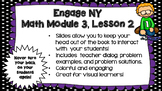 Engage NY Module 3, Lesson 2 PowerPoint