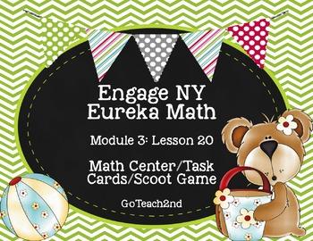 Engage NY/ Eueka Math  Module 3  Lesson 20 Math Centers -
