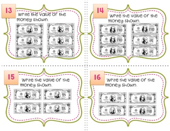 Engage NY  Module 3  Lesson 8 Math Centers - Task Cards