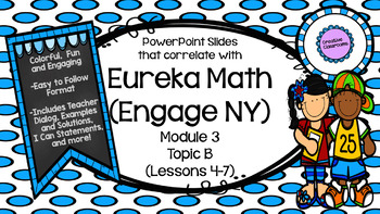 Eureka Math (Engage NY) Module 3 Topic B PowerPoint Slides