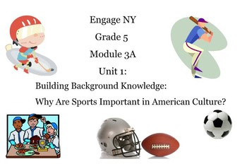 Engage NY Module 3A Grade 5 Unit 1 (7 lessons) Smart Board Slides