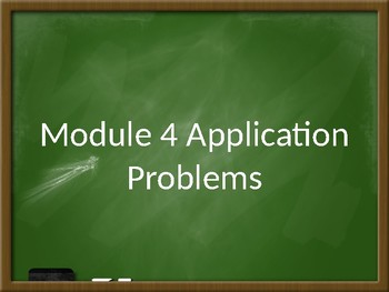Engage NY Module 4 Application Problems - Grade 2
